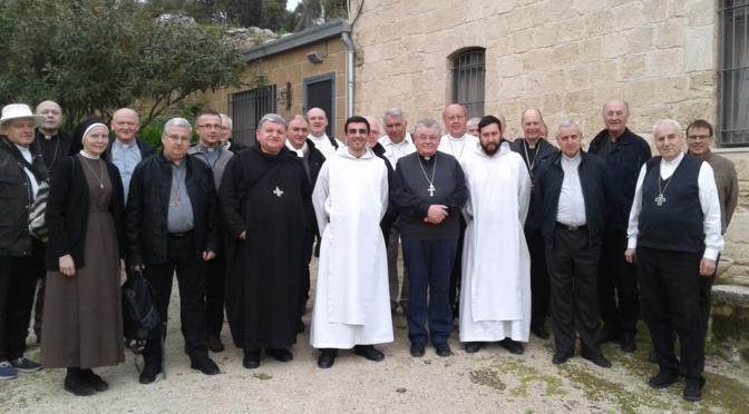 Obispos y sacerdotes en Séforis