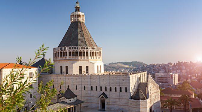 Nazaret, santa Misa en la basílica de la Encarnación