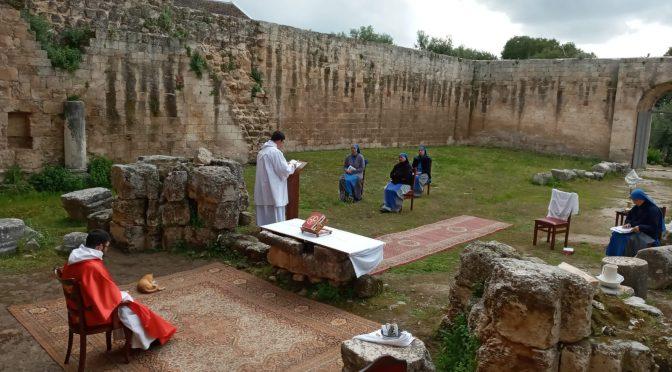 Triduo Pascual en Séforis