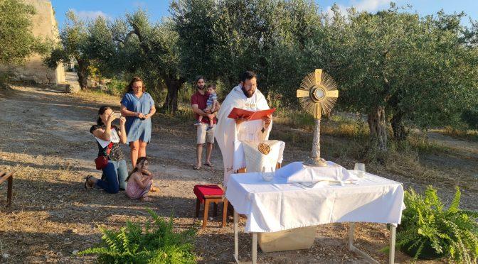"""""""Corpus Christi en el Monasterio de la Sagrada Familia"""""""